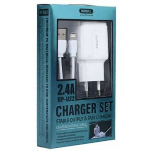 Remax RP-U22I 2-port 2.4a USB to Light Charger