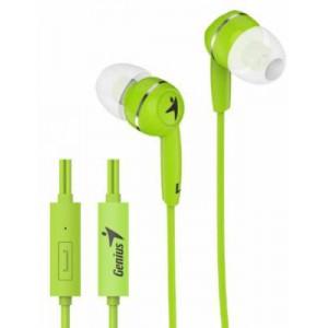Genius HS320 Green Earphone