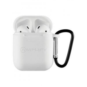 Amplify Buds Series True Wireless Earphones with Silicone Accessories - White