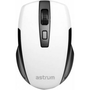 Astrum MW200 2.4GHz 1600 dpi White Wireless Mouse