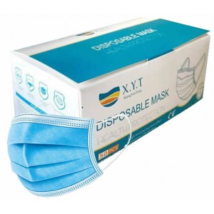Casey 3 Ply Disposable Face Mask with Earloop - 50 Per Pack Non-Woven