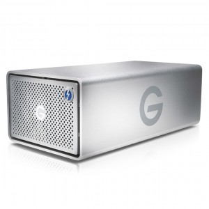 "G-Technology 0G04098 G-Raid G1 3.5"" 16TB (2x8TB) 7200RPM USB3.0 and Thunderbolt 2 External Hard Drive (HDD)"