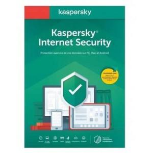 Kaspersky 2020 Internet Security 1+1 Dev 1 Year DVD