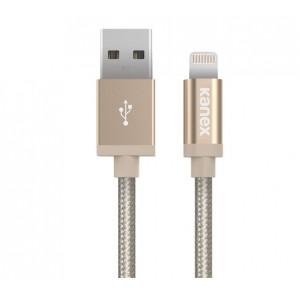 Kanex Lightning to USB Cable 1.2M Braided Aluminium Gold