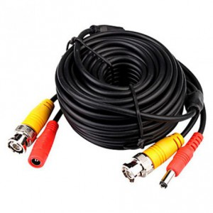 Vtech CCTV Cable - BNC / RG59 Connectors + Power Adaptor - 25m (thicker width)