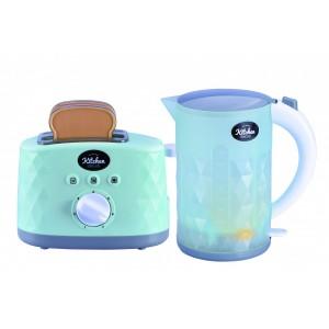 Jeronimo - Kettle & Toaster Set Turquoise