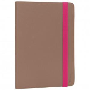 Targus Univ.9.7-10.1''Tablet Foliostand Case - Taupe