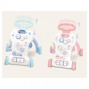 Nuovo - Multifunctional Baby Walker - Dark Pink