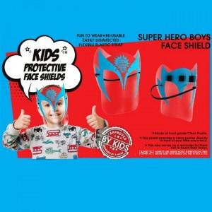 Face Shield - Superhero Gladiator