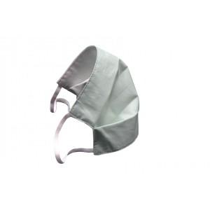 Fabric Face Mask Light Blue (l-xl) Set of 2