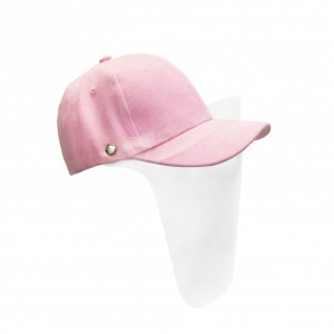 Kids Visor Cap - Light Pink