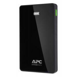 APC Mobile Power Pack/ 10000mAh Li-polymer/ Black