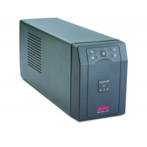 APC SC420I Smart-UPS,260 Watts /420 VA,Input 230V /Output 230V, Interface Port DB-9 RS-232