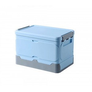 Foldable Storage Clip Boxes - Small - Blue