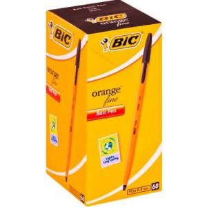 BIC Orange Fine Point Ballpoint Pen - Black