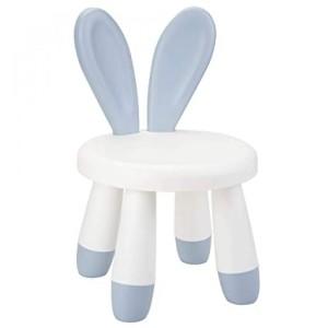 Kids Chair Bunny Ears - Mat Blue