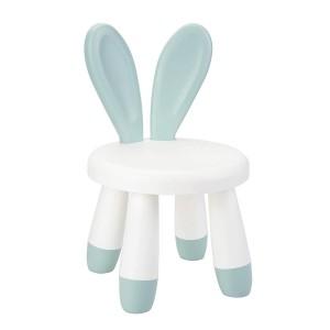 Kids Chair Bunny Ears - Mat Green