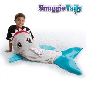 Snuggie Shark Tail Blanket - Blue