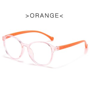 Blue Ray Glasses - Tiger Orange