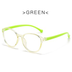 Blue Ray Glasses - Lime Green