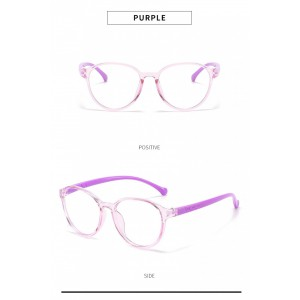Blue Ray Glasses - Orchid  Purple