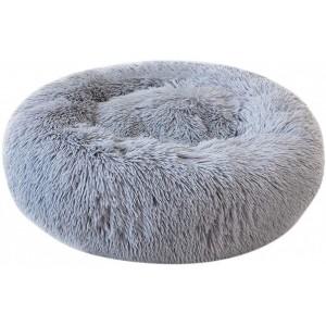 Plush Pet Beds 80cm - Grey