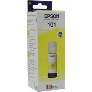 Real Color Compatible Epson 101 Ecotank Yellow Ink Bottle (T03V44A)