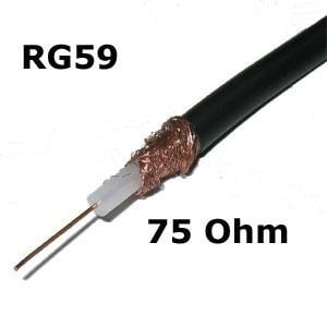 Securnix RG59 500m Cable Roll No Power