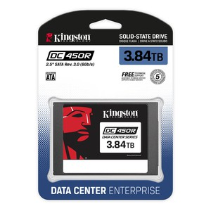Kingston DC450R 3.84TB 2.5 inch Serial ATA III 3D TLC Solid State Drive