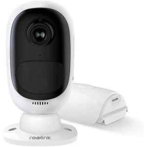 Reolink Argus 2 Wireless Outdoor Security Camera 1080P Starlight Night Vision (Rechargeable Battery Powered) Support Google Assistant/Cloud Service/SD Slot