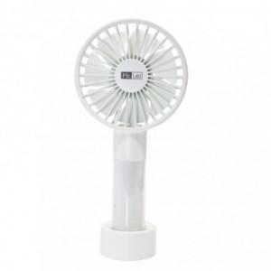 Mr Lei Mini Rechargeable USB Handheld Fan - White
