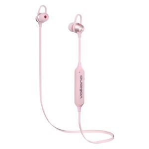 Volkano Rush 2.0 Bluetooth Earphones - Pink