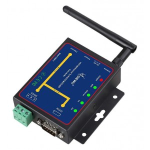 Diewu Wifi & Ethernet RJ45 To RS232 & RS485 Serial Device Server