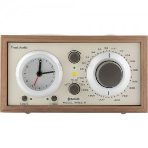 Tivoli Model Three BT Bluetooth Clock Radio with USB Charging