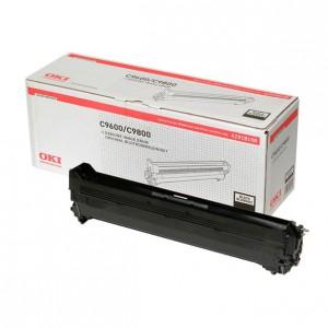 OKI C9600 C9800 C9650 C9850 Black Image Drum Kit