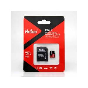 Netac P500 Extreme Pro 512GB Class 10 V10 U1 microSDXC Card & Adaptor