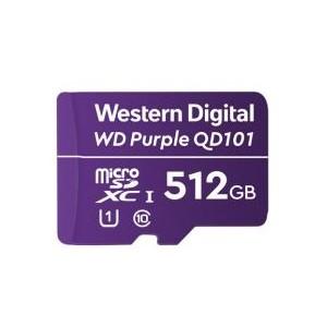 WD Purple SC QD101 microSDXC 512GB Class 10 UHS Class 1 (U1) Memory Card