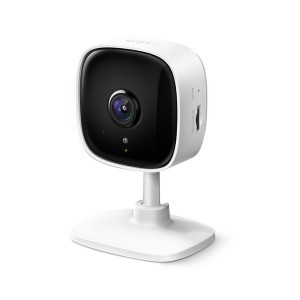 TP-Link Tapo C100 - Home Security Wi-Fi Camera, 1080p HD, Suport up to 128GB Micro SD Card