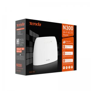 Tenda N300 Wi-Fi 4G LTE Router
