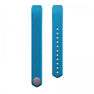 Fitbit Alta Silicon Band - Adjustable Replacement Strap - Sky Blue
