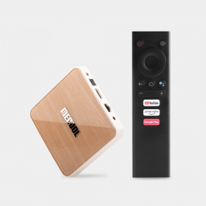 MECOOL KM6 4K Android TV Box (Android 10.0 4GB/64GB) Amlogic S905X4 2.5G+5G WiFi 6 Bluetooth 5.0 (Deluxe Edition)