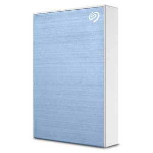 Seagate One Touch 2TB 2.5 inch Portable Hard Drive - Blue