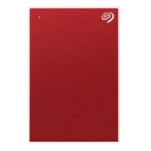 Seagate One Touch 2TB 2.5 inch Portable Hard Drive - Red