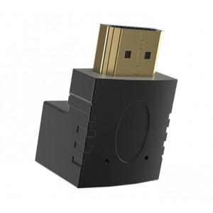 Ultra Link 90° HDMI Male to Female Adaptor