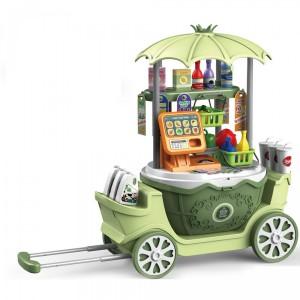 Jeronimo - Super Trolley 4-in1 Supermarket
