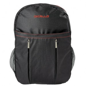 """Dicallo 15.6"""" Laptop Backpack - Black/Red"""