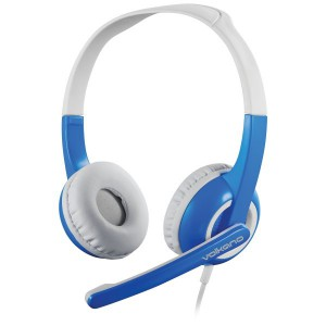 Volkano Kids Chat Junior Series Headset with Mic - Blue