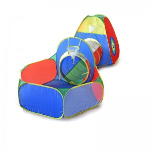 Kids Indoor and Outdoor Multi-colour Play Tunnel