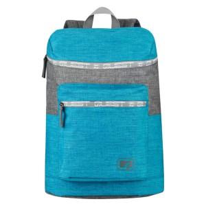 Quest Top Loader Backpack - Aqua/Grey