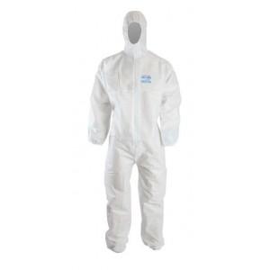 Clinic Gear Disposable Coverall - Medium - White